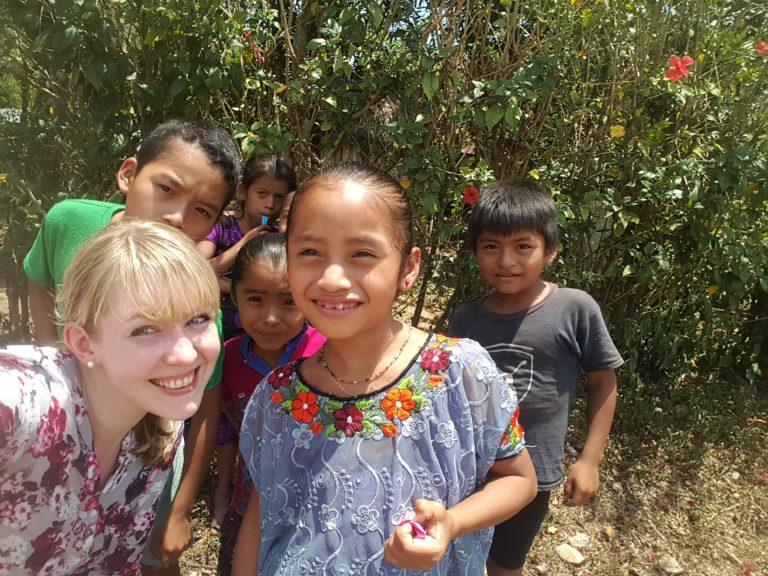 Besuch beim Patenkind in Guatemala