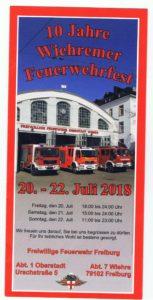Wiehremer Feuerwehrfest